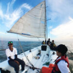 Sail Yatch Cruise in Arabian Sea