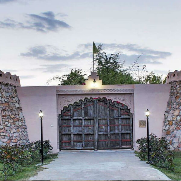 Eotic Dining at Lohagarh Fort Resort
