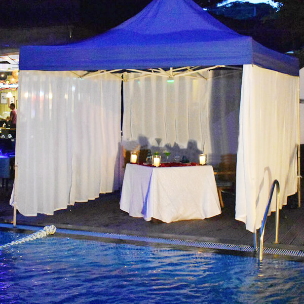 Private Pool Side Cabana Dining, Koramangala