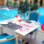Regal Poolside Candle light Dinner at Nirbana Palace 3