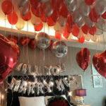 Balloon ceiling surprise
