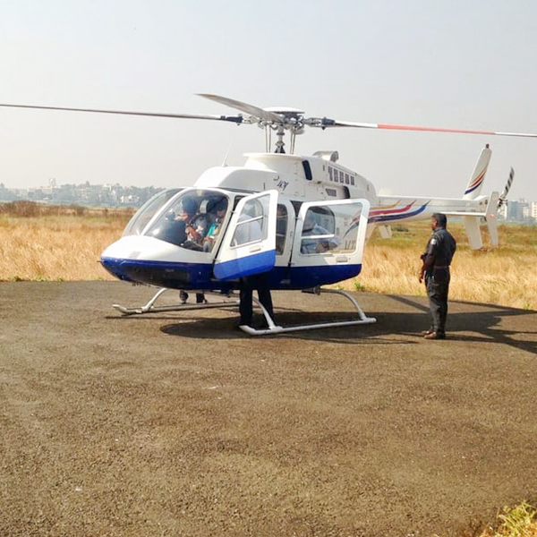 Couple Helicopter Joyride In Chennai