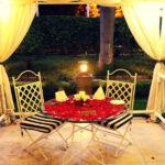 Flamboyant Cabana Candlelight Dining in Garden 5