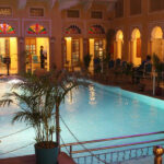 Grand Poolside Dining at Nirbana palace