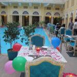 Grand Poolside Dining at Nirbana palace 7