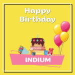 Indium Birthday Surprise
