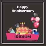 Iridium Anniversary surprise