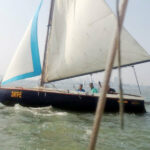 Lesiure Sailing in Arabian sea