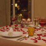 Luxurious Indoor Dining at Hyatt