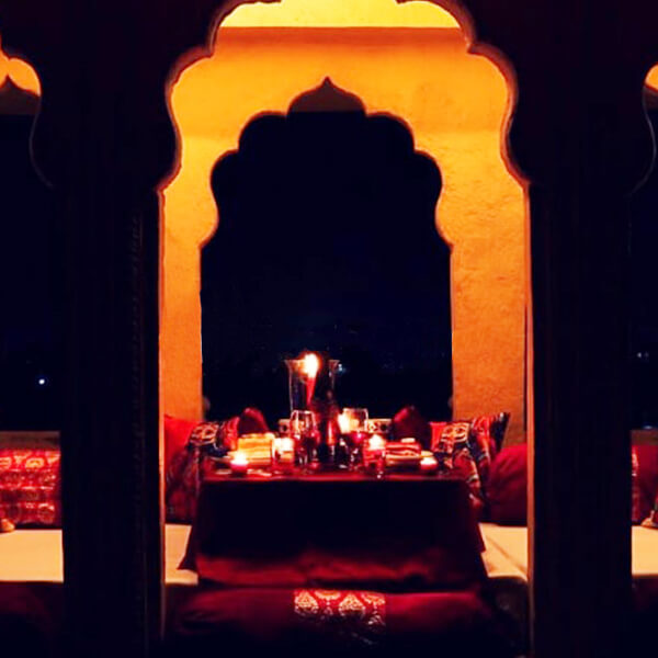 Majestic Baradari Candle light Dinner