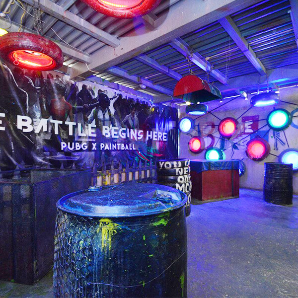 PUBG Themed Paintball game