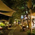 Tranquil Candlelight Dinner, Garden of Five Senses
