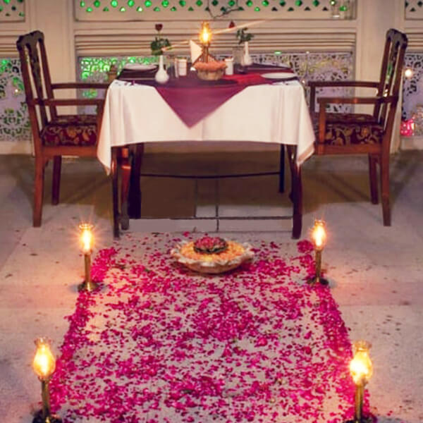 Secluded Candle Light Dinner at Hari Mahal