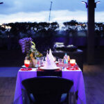 Sensuous Open Air Poolside Dining 5