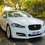 Spin in style in a jaguar
