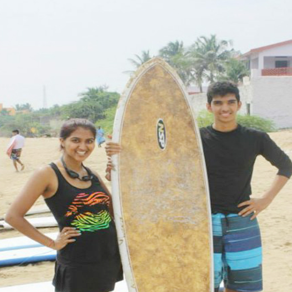 Surf in The Bay of Bengal