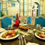Swanky Indoor Dining at Nirbana Palace