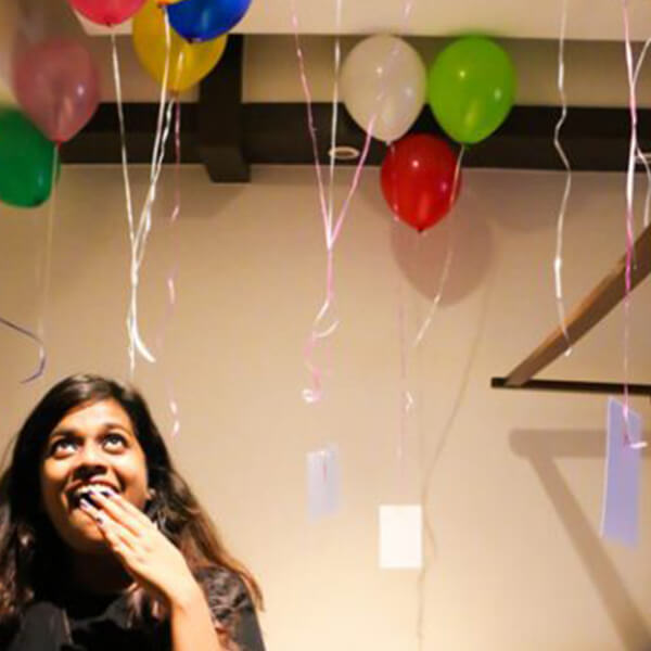 The Balloon Ceiling surprise