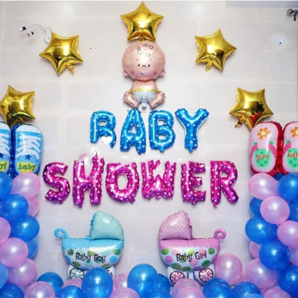 Vibrant Baby Shower Surprise