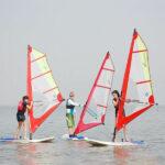 Wind Surfing in Mandwa