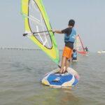 Wind Surfing in Mandwa (3)