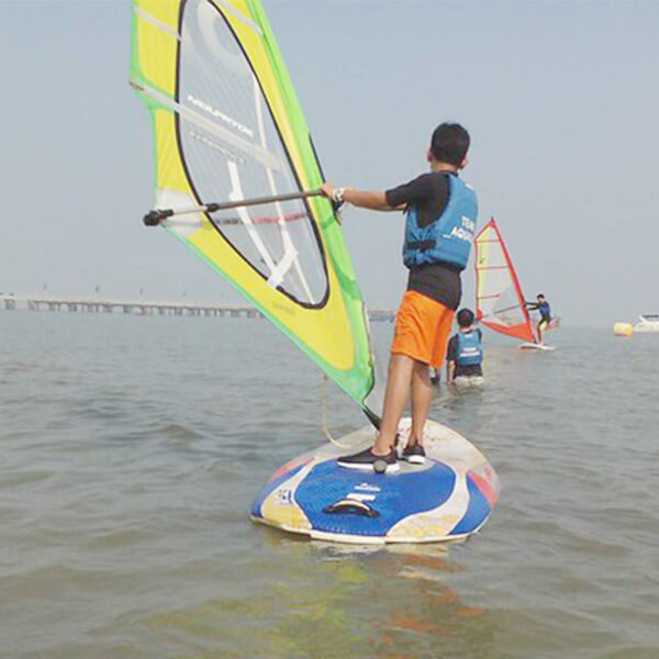 Wind Surfing in Mandwa