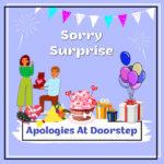 Apologies At Doorstep