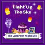 Lustrous Night Sky