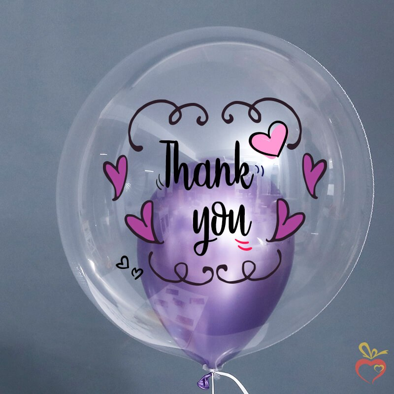 Thank You Balloon Surprise