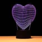 3D Lamp Love Gift