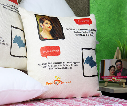 Couple Personalized Pillow