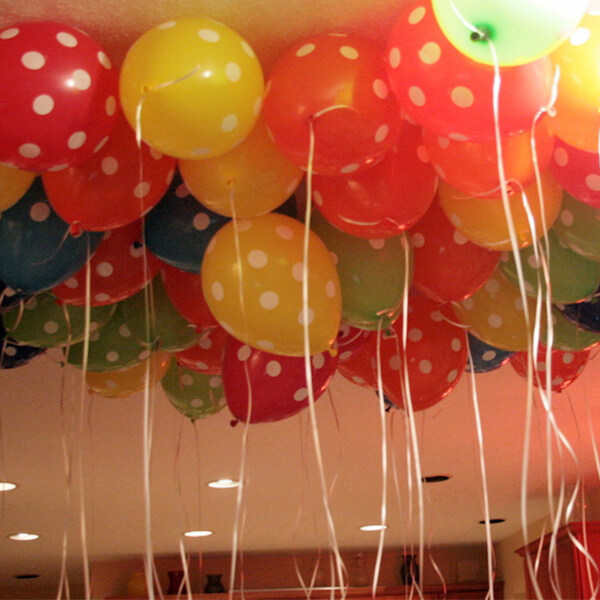 Helium Balloons Surprise