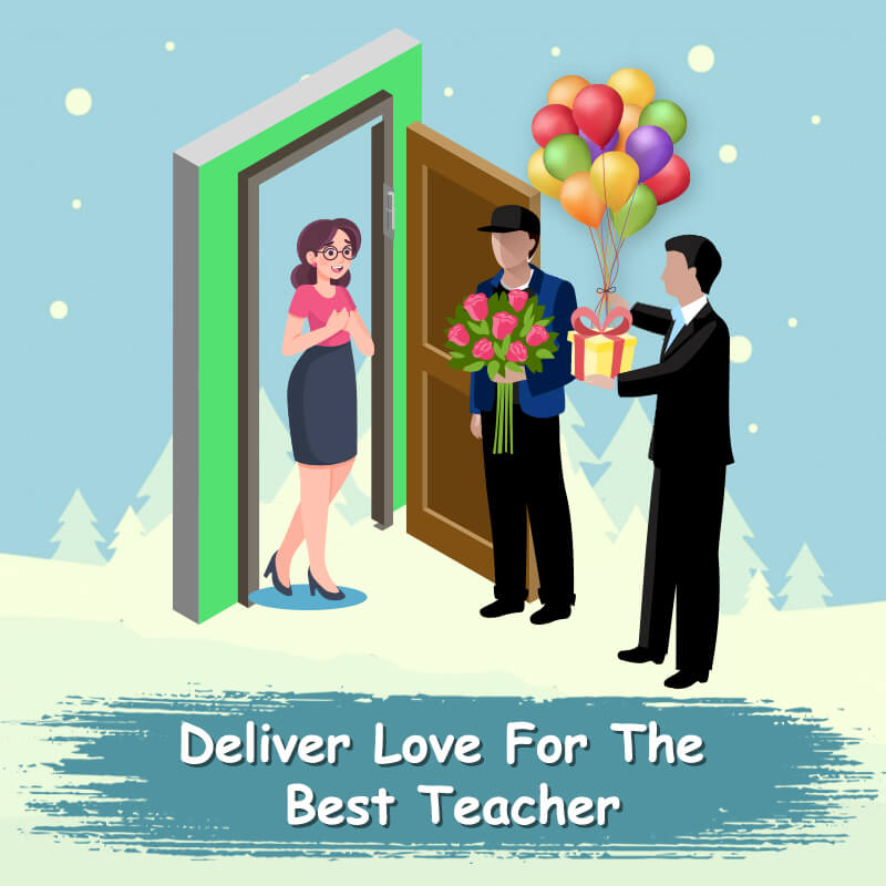 Teacher's Day Delivery Surprise