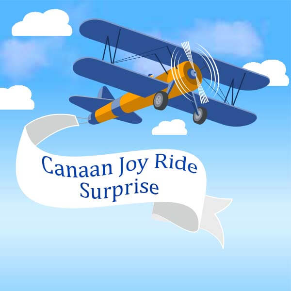 Canaan Joy Ride Surprise