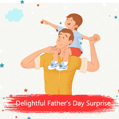 Delightful Father's Day Surprise