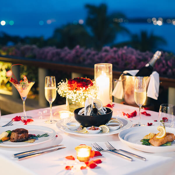 Enchanting Candle Light Dinner