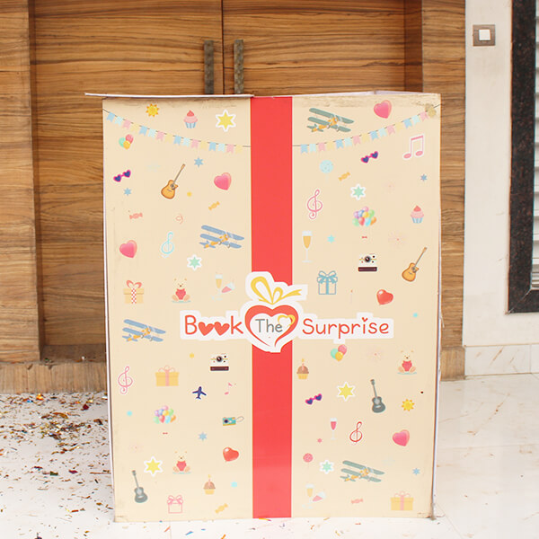 Giant Gift Box Surprise