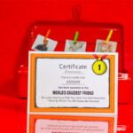 Best Friend Certificate