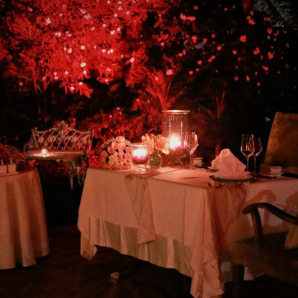 Private Candle Light Dinner