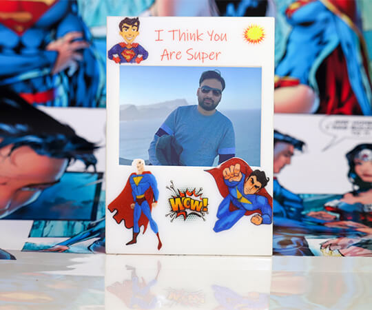 My SuperBhai - Fridge Magnet