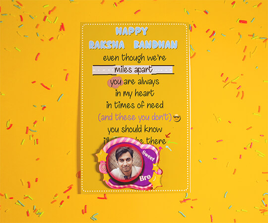 RakshaBandhan Greeting Card