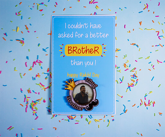 Raksha Bandhan Greeting Card