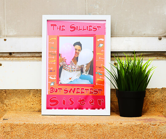Best Sister Photo Frame